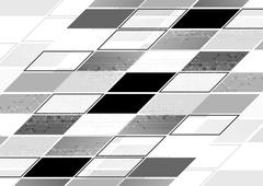 Abstract grey tech geometric corporate background - stock illustration