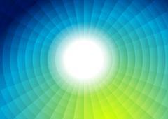 Tech bright futuristic abstract background - stock illustration