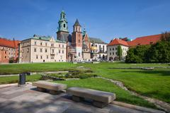 Stock Photo of Wawel Cathedral in Krakow