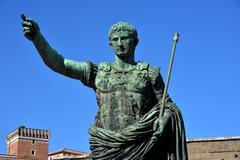 Caesar Augustus the leader - stock photo