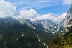 Dolomiti of Brenta, Trentino Stock Photos