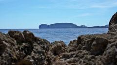 Capo Caccia Bay Sardinia Italy - 29,97FPS NTSC Stock Footage