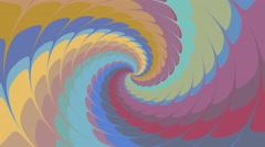 Psycho pattern seamless loop - stock footage