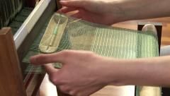 Little handloom Stock Footage