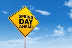 Spring day ahead Stock Photos