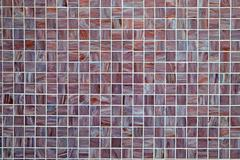 Background from small mosaic tiles - stock photo