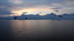 Antarctica Landscape Stock Footage
