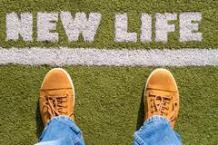 Stock Photo of New Life concept