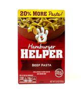 Hamburger Helper package - stock photo