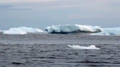 Icebergs in Antarctica Stock Footage