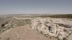 Bakhchisarai. Canyon Chufut-Kale. Bakhchisarai Tchuruk-Su(sphinx). Stock Footage