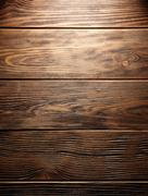 The brown old wood texture with knot Stock Photos