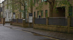 4K Exterior of Institute of Psychiatry, King's College, London. Editorial. - stock footage