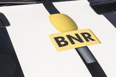 BNR logo. Stock Photos