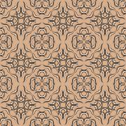 Curved stripes forming a decorative line pattern on a distressed paper or - stock illustration