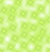 Vivid green seamless background tile with blend square decor and fine transpa - stock illustration