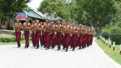 Thai Army Soldiers Training For Battle Stock Footage