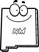 Cartoon New Mexico Stock Illustration