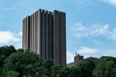 Yeshiva University, Belfer Hall Stock Photos