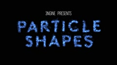 ParticleShapes Stock After Effects