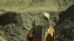 Angry terrorism terrorist islamic Stock Footage