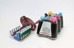 Stock Illustration of Continuous Ink Supply System
