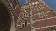 The Rijksmuseum in Amsterdam the Netherlands Stock Footage