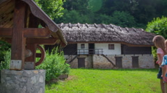 Old countryside building Stock Footage