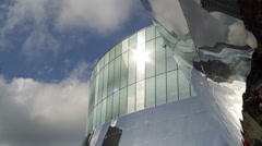 New Street Station and John Lewis building detail, Birmingham. Stock Footage