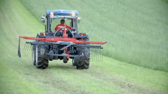 Tractor on work Stock Footage