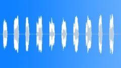 English countdown 10-1 Robot saw Sound Effect