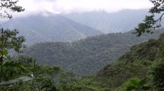Mountain rainforest valley Stock Footage