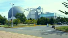 LIBERTY SCIENCE CENTER  JERSEY CITY. 4K Stock Footage