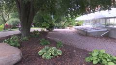 Beautiful Edwards gardens in Toronto in autumn. Stock Footage