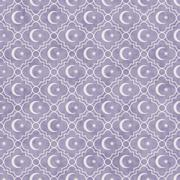Pale Purple and White Star and Crescent Symbol Tile Pattern Repeat Background - stock illustration