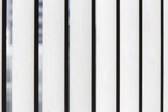 Closeup of steel palisade security fence Stock Photos