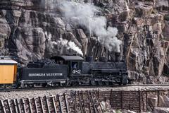 Durango Silverton Railroad - stock photo
