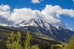 Colorado mountains - stock photo