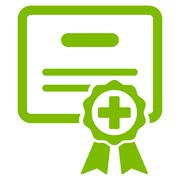 Stock Illustration of Medical Certificate Icon
