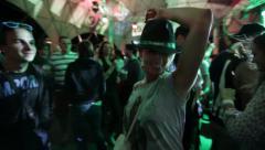 Girl dancing to music Arkistovideo