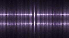 Audio violet equalizer. - stock footage