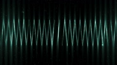 Audio neon equalizer. - stock footage