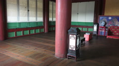 Palace Room At The Changdeokgung South Korea Stock Footage