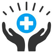 Medical Prosperity Icon - stock illustration