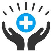 Medical Prosperity Icon Stock Illustration