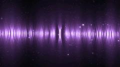 Audio violet equalizer. Stock Footage