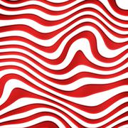Wave color background Stock Photos