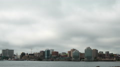 Halifax city time lapse in 4K Stock Footage