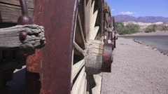 Stock Video Footage of Twenty mule team wagon, borax ore