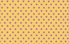 Polka dot with yellow pastel color background Stock Photos